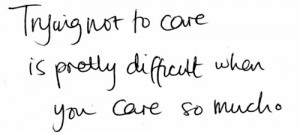 ... to care #care #caring #care too much #love #quotes #sayings #truth #me