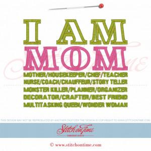 Softball Mom Sayings 5739 sayings : i am mom