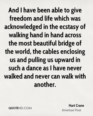 Hart Crane Quotes