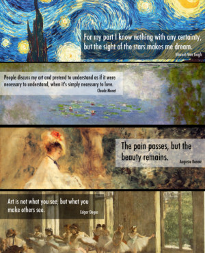 renoir quotes art