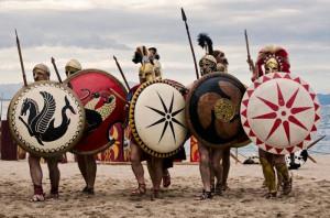 Ancient Greek warriorsShields, Ancient Greek, Buckler, Greek Warriors ...