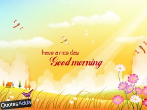 Good morning quotes with birds