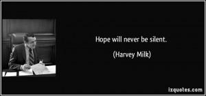 More Harvey Milk Quotes