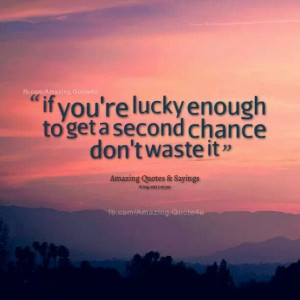 Second chance...♥♡♥