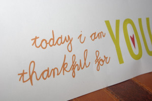 Click here to get your I am Thankful for You gift card.