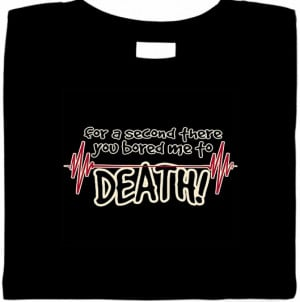... Arrivals @ Buzzy Tees – Rhinestone Cat & Bored Me To Death Shirt