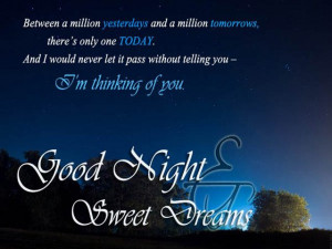 Sweet Dreams My Love Quotes Into the world of dreams,