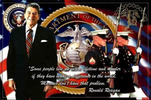 Reagan Marines Image