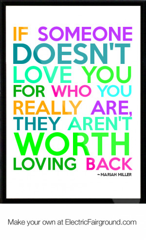MARIAH MILLER Framed Quote