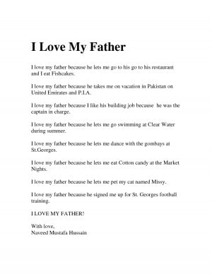 Love My Father by hcj
