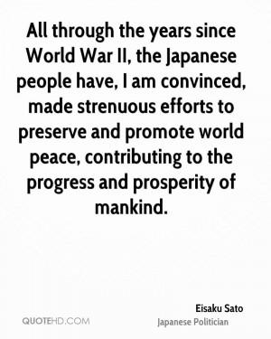 Eisaku Sato Quotes