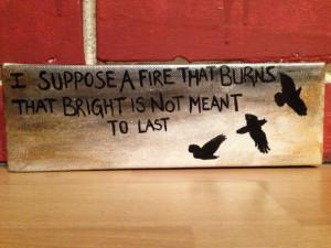 Divergent/Allegiant Quote Painting on Etsy, $8.00