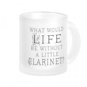 funny clarinet quotes