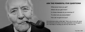 … Tony Benn motivational inspirational love life quotes sayings ...