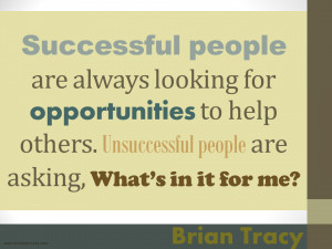 Successful people Brian Tracy