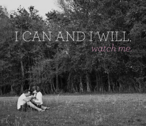 Motivation Monday I can and I will watch me