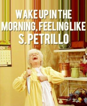 Golden Girls | Sophia Petrillo. Sophia was comedy gold!