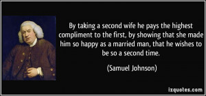 Second Wife Quotes