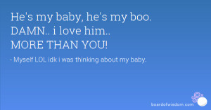 he 39 s my boo quotes