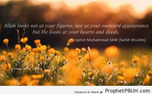 Hearts and Deeds - Islamic Quotes About Good Deeds ← Prev Next →