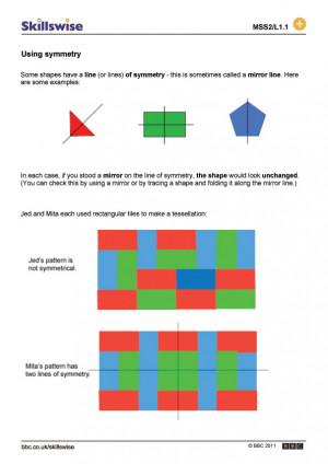 properties of 2d shapes worksheet pdf