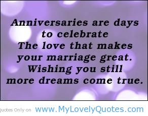 Anniversaries are days to love that make – great marriage quotes