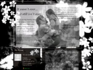 Untitled - The Notebook Love MySpace Layout Preview