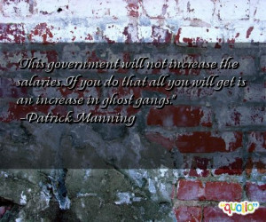 Quotes about Gangs