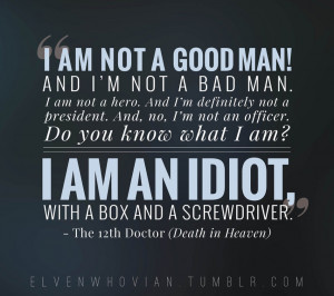 death in heaven quote 3 doctorwho graphicdesign quotes typography ...
