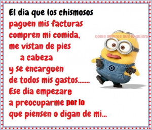 I Love You Grandma Quotes In Spanish : Minion Quotes In Spanish. QuotesGram