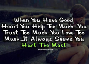 Having a good heart
