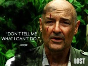 Terry O. Quinn as John Locke of LOST