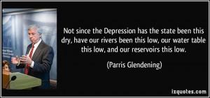 More Parris Glendening Quotes