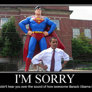 Obama And Superman