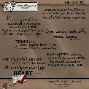 ... :: Karen Diamond Designs :: Strings Attached Quotes {S4H/S4O/PU