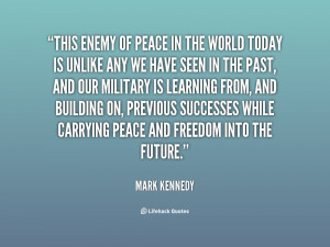 Mark Kennedy Quotes