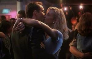 Nicolas Cage (Cameron Poe) and Monica Potter (Tricia Poe) in Con Air ...