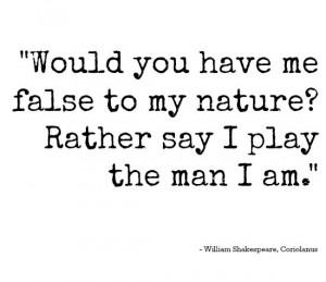 Coriolanus quote