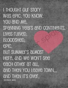 epic love quote vm and le more veronica mars epic love quote epic love ...