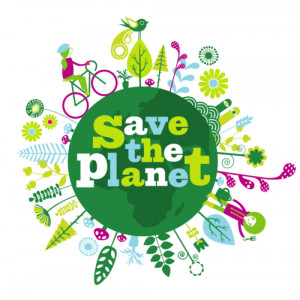 Save the planet by Anna Wray