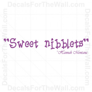 ... -Hannah-Montana-Girl-Wall-Decal-Vinyl-Art-Sticker-Quote-Saying-K43