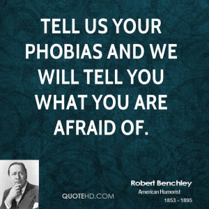 Funny Quotes About Phobias