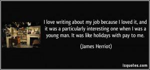 Love My Job Quotes