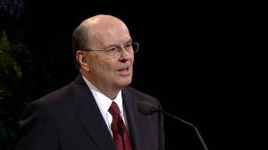 Elder Quentin L. Cook, a member of the Quorum of the Twelve Apostles ...