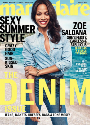 Saldana dished on her previous relationships before getting married ...