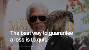 10 Morgan Freeman Quotes on Life, Death, Success and Struggle