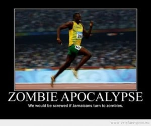 Funny Picture - Zombie apocalypse jamaicans