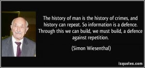 More Simon Wiesenthal Quotes