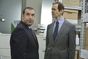 Rick Hoffman and Adam Godley in