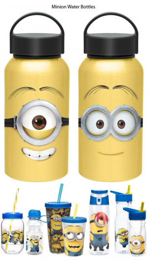 Minion Water Bottles